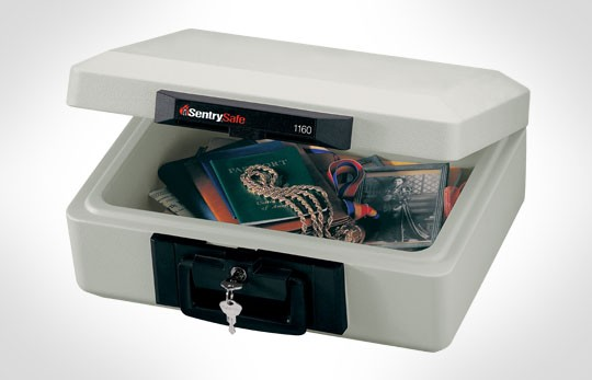 Fireproof Chest for External hard drives, Documents and Backup Media