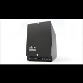 4 TB Private Cloud, 2 x 2 TB hard drives in the ioSafe N2 NAS