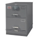 Class 6, 2 Drawer GSA Approved File Cabinet w/ X-10 Lock, Gray