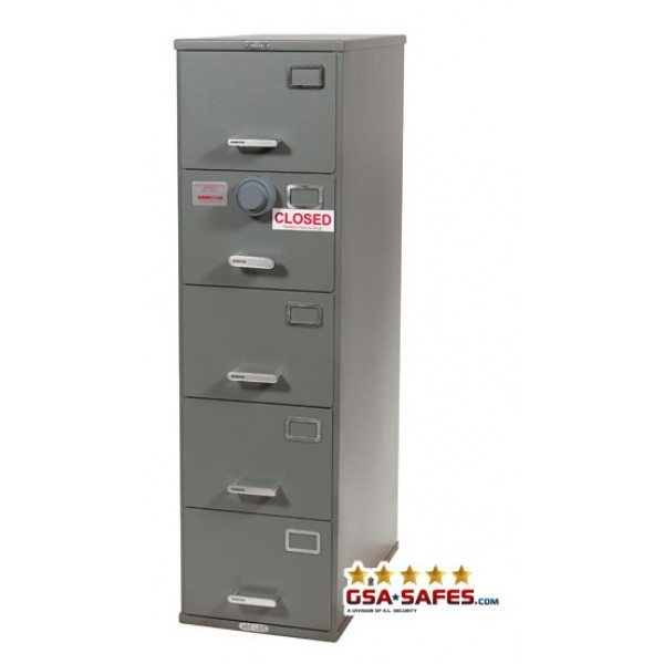 ... Class 6, 5 Drawer GSA Rated And Certified Safe
