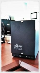 ioSafe N2 fireproof NAS